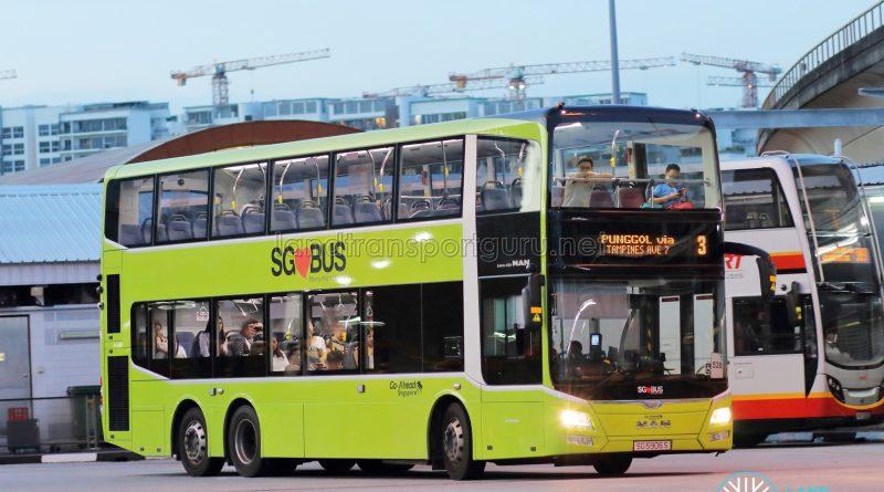 Bus 3 - Go-Ahead MAN A95 Euro 5 (SG5906S)
