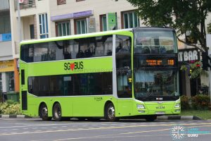 Bus 119 - Go-Ahead MAN A95 (SG5910D)