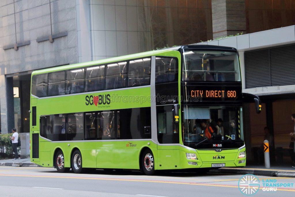 City Direct 660 - SBS Transit MAN A95 Euro 5 (SG5917K)
