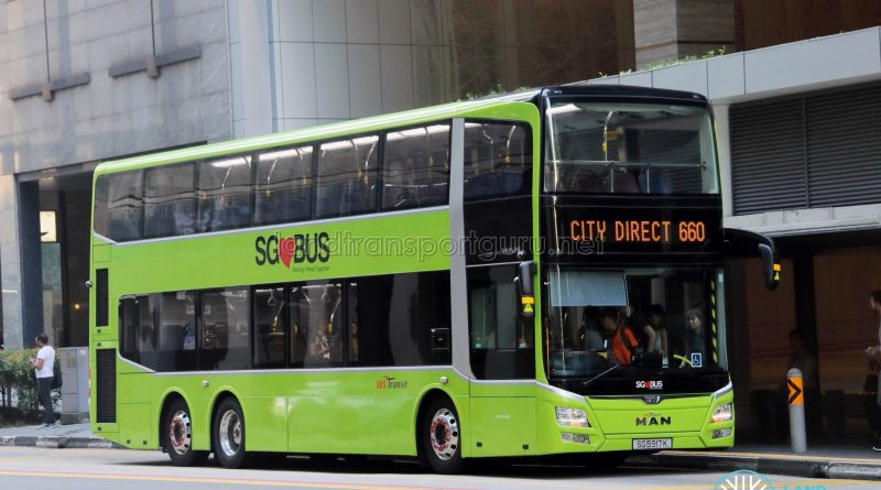 City Direct 660 - SBS Transit MAN A95 Euro 5 (SG5917K)