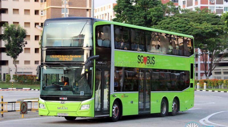 LTG EMEA Matrix Renderer - SBS Transit MAN A95 Euro 6 (SG5938A)