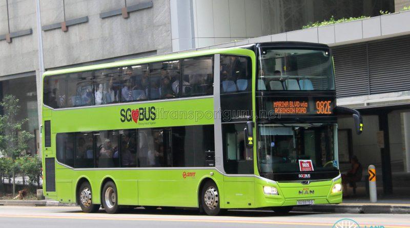 Bus 982E - SMRT Buses MAN A95 Euro 6 (SG5975S)
