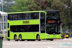 Service 117 - SBS Transit MAN A95 Euro 6 (SG6044Y)