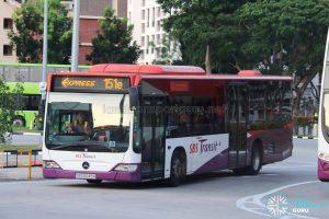 Bus 151e - SBS Transit Mercedes-Benz Citaro (SBS6045H)