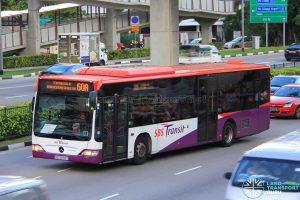 Bus Service 60A - Mercedes-Benz Citaro (SBS6083Y)