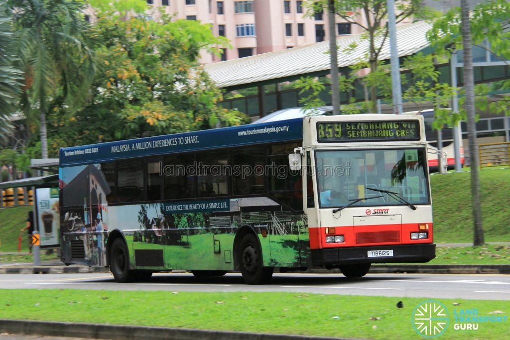 Bus 859 - SMRT Mercedes-Benz O405 (TIB612S)