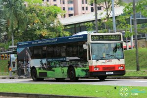 Bus 859 - SMRT Mercedes-Benz O405 (TIB612S)