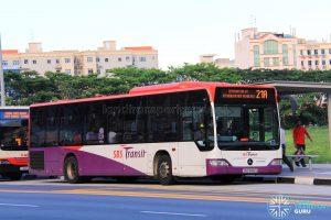 Bus Service 21A - Mercedes-Benz Citaro (SBS6166S)
