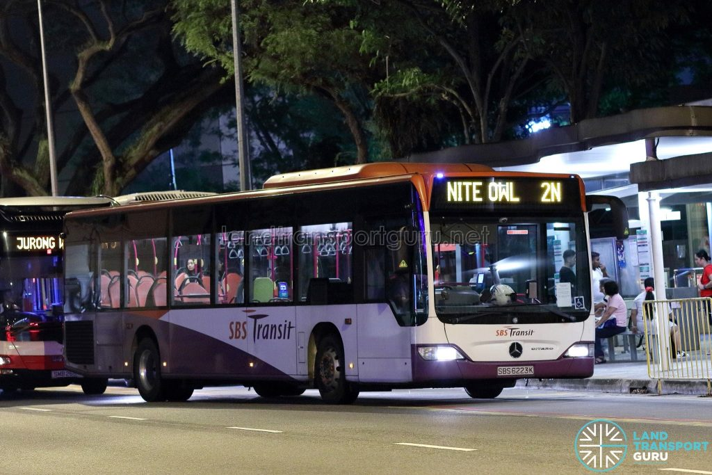 Nite Owl 2N - SBS Transit Mercedes-Benz Citaro (SBS6223K)