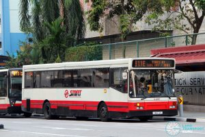SMRT Scania L113CRL (Walter Alexander) (TIB673R) - Service 911E