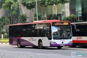 Bus 196A - SBS Transit Mercedes-Benz Citaro (SBS6795B)