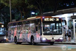 Nite Owl 3N - SBS Transit Mercedes-Benz Citaro (SBS6852U)