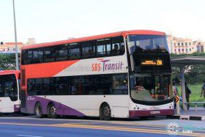 Bus Service 21A - SBS Transit Volvo B9TL CDGE (SBS7423T)