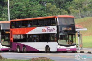 Bus 72A - SBS Transit Volvo B9TL CDGE (SBS7423T)