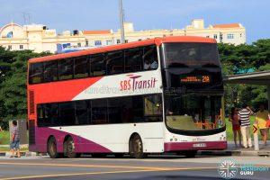 Bus Service 21A - SBS Transit Volvo B9TL CDGE (SBS7438B)