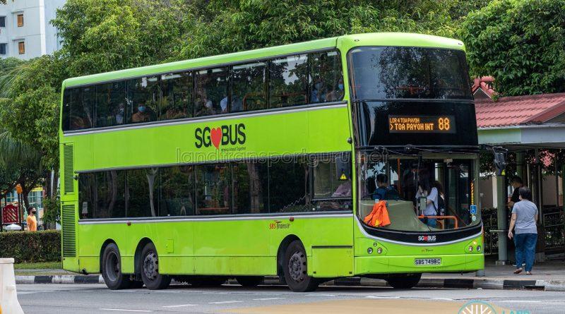 Bus 88 - Volvo B9TL CDGE (SBS7498C)