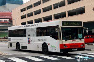 Bus 188R - SMRT Mercedes-Benz O405 (TIB829J)