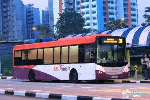Bus Service 3B - SBS Transit Scania K230UB Euro V (SBS8571S)