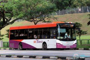 Bus 72B - SBS Transit Scania K230UB Euro V (SBS8639G)