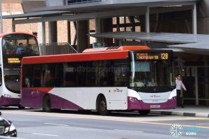 Bus 128 - SBS Transit Scania K230UB Euro V (SBS8855Z)