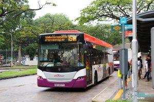 Bus 151A - SBS Transit Scania K230UB Euro V (SBS8897C)