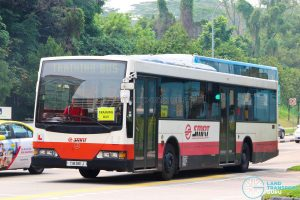 SMRT Mercedes-Benz O405 Volgren (TIB961J) - Training Bus
