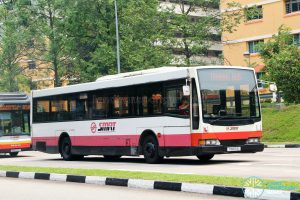 SMRT Mercedes-Benz O405 Volgren (TIB971E) - Training Bus