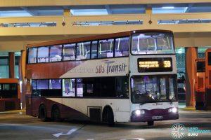 Bus 59 - SBS Transit Volvo B10TL (SBS9800A)