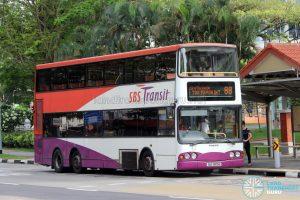 Bus 88 - SBS Transit Volvo B10TL (SBS9815H)