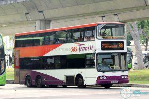 Bus 88 - SBS Transit Volvo B10TL (SBS9831K)