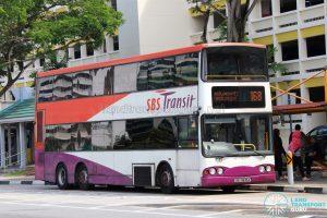 Bus 168 - SBS Transit Volvo B10TL (SBS9835A)