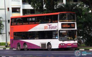 Bus Service 133 - SBS Transit Volvo B10TL (SBS9841G)