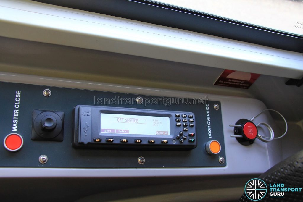 Alexander Dennis Enviro500 - Announcement System
