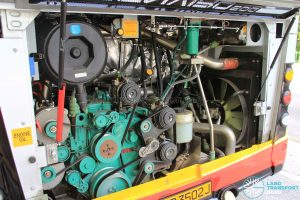 Alexander Dennis Enviro500 - Engine Bay