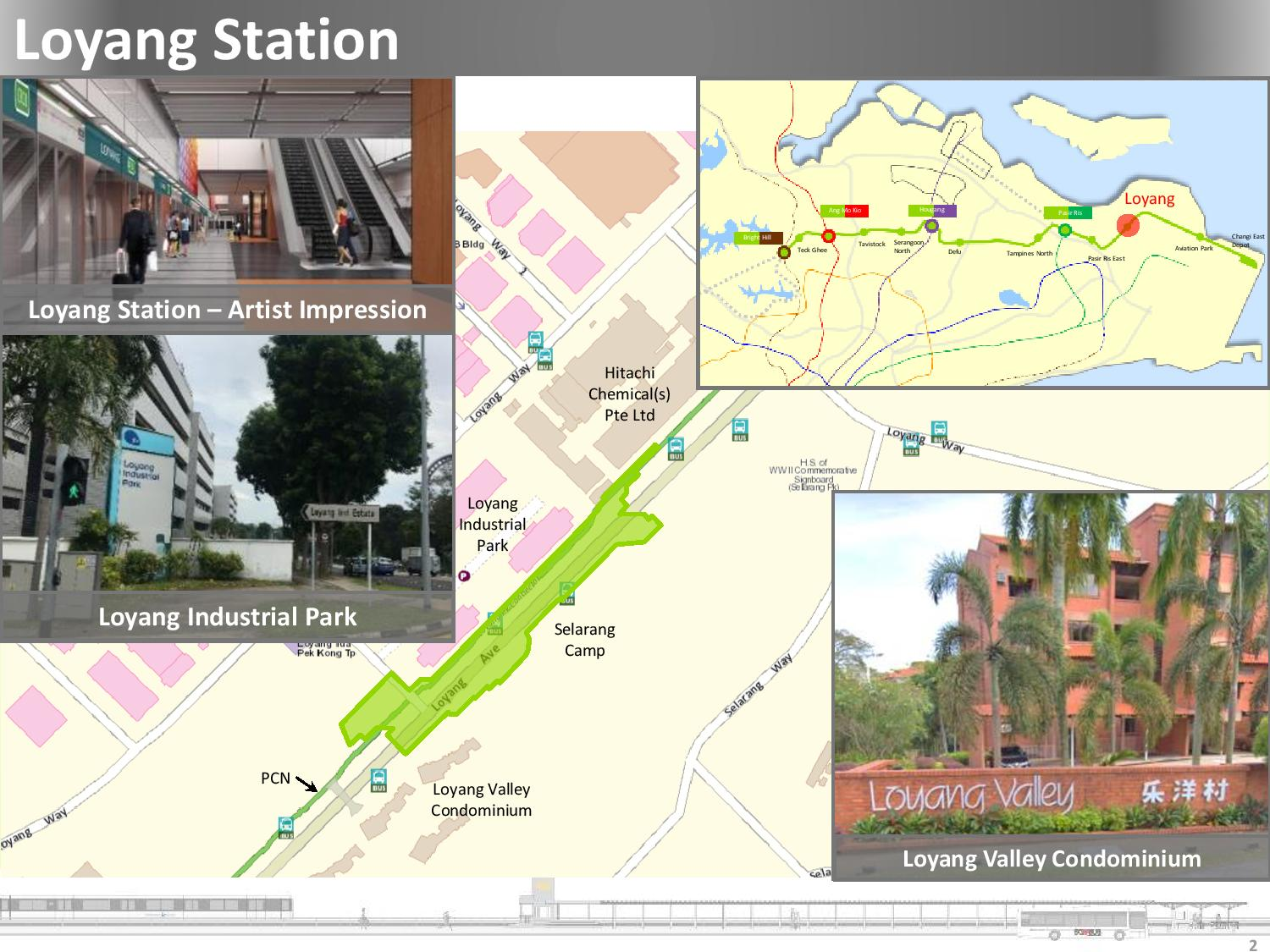 Loyang MRT Station | Land Transport Guru