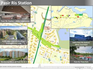 CR05 Pasir Ris - Location Map