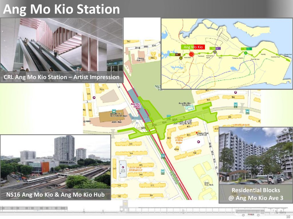 CR11 Ang Mo Kio - Location Map