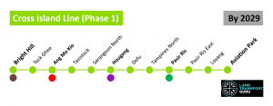 Cross Island Line - Phase 1