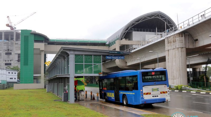 Causeway Link CW7 at Tuas Link MRT Station