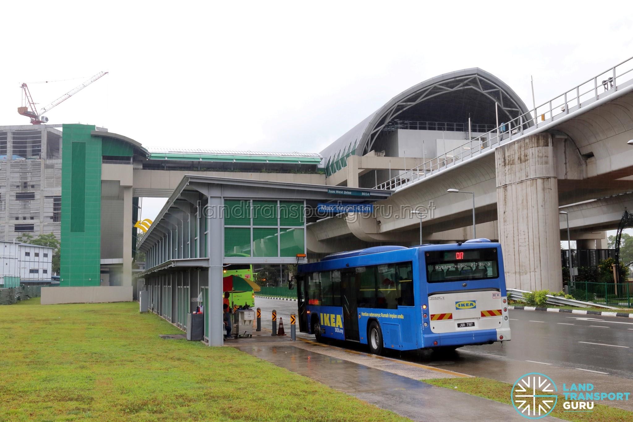 Causeway Link Bus Service CW7 | Land Transport Guru