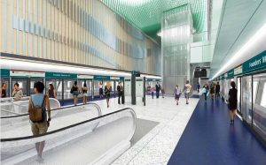 Artist's Impression for Founders' Memorial Station - Photo: LTA