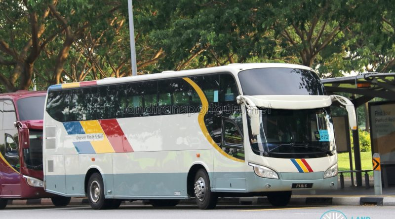 Rui Feng Chartered Isuzu LT434P (PA91S) - City Direct 672