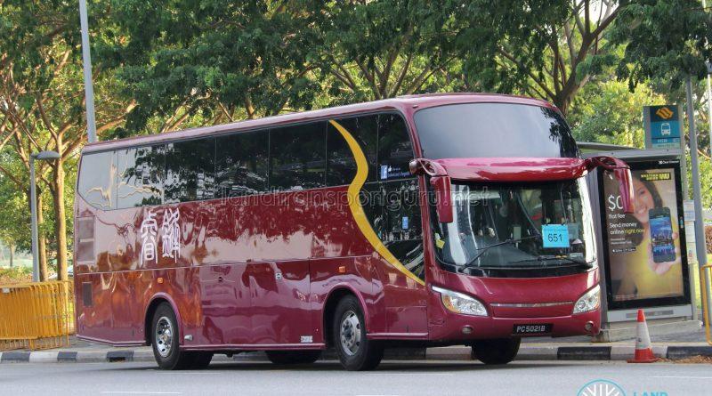 Rui Feng Travel Isuzu LT434P (PC5021B) - City Direct 651