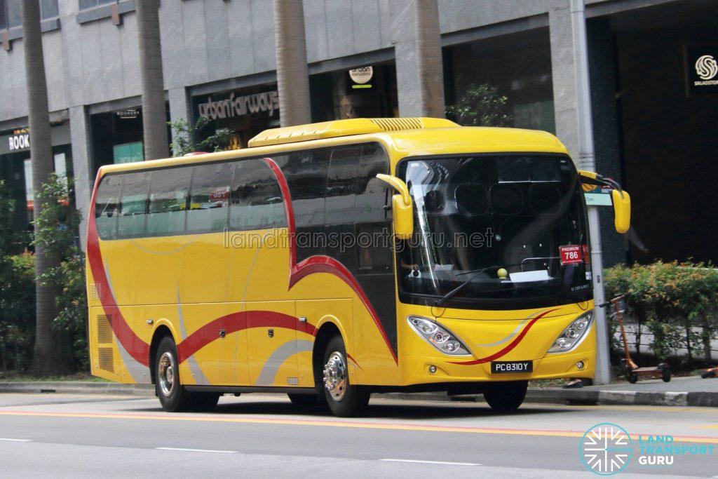 Premium 786 - YZ Transport Service Isuzu LT434P (PC8310Y)