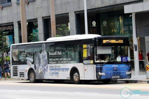 Yutong ZK6126 (PH8811S) - Service 621
