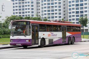 SBS Transit Volvo B10M MkIV Superlong (SBS997A) - Service 83