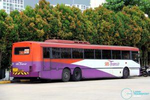 SBS Transit Volvo B10M MkIV Superlong (SBS997A) - Offside Rear