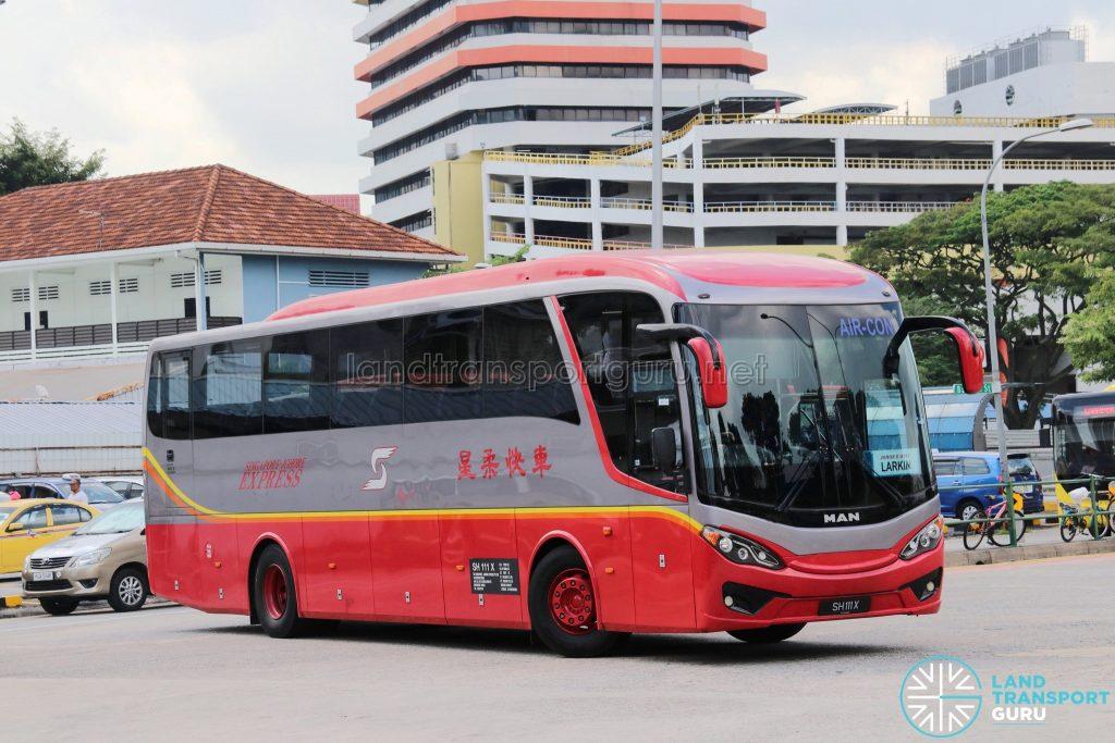 SJE - Singapore-Johore Express MAN RR8 (SH111X)