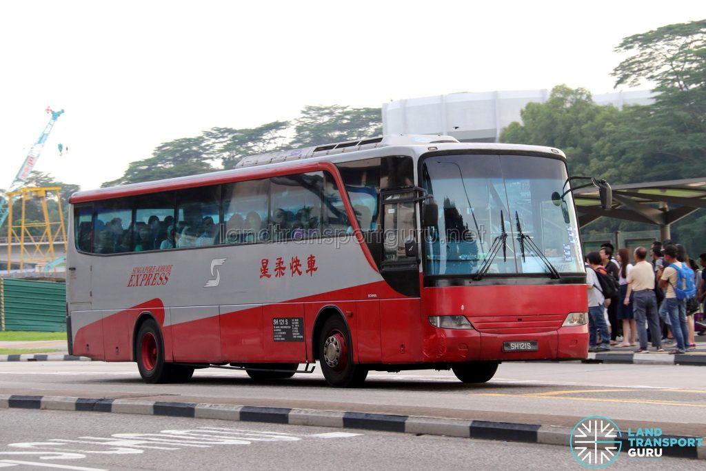 SJE - Singapore-Johore Express Scania K230IB (SH121S)