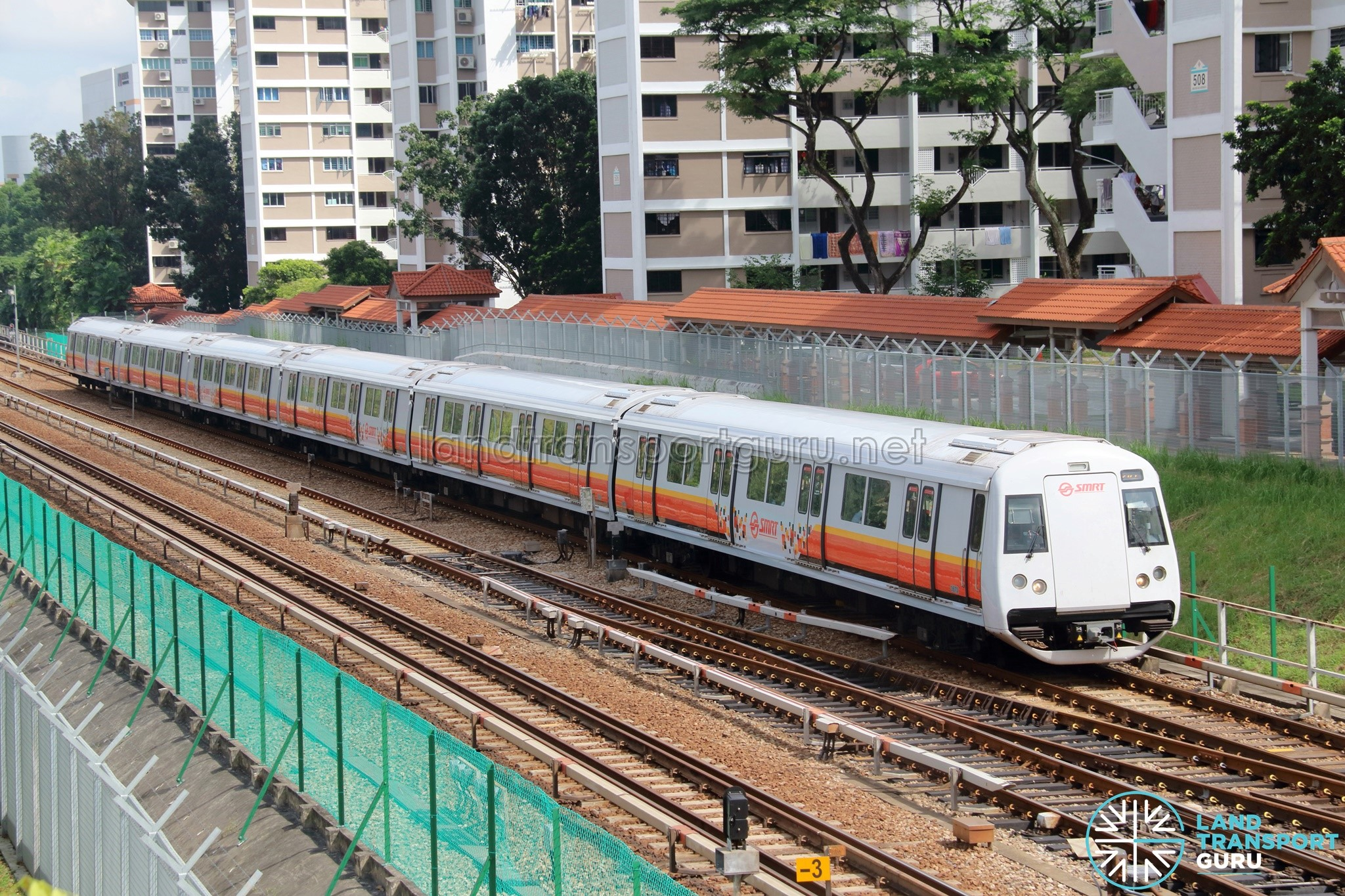 SMRT C151B Train